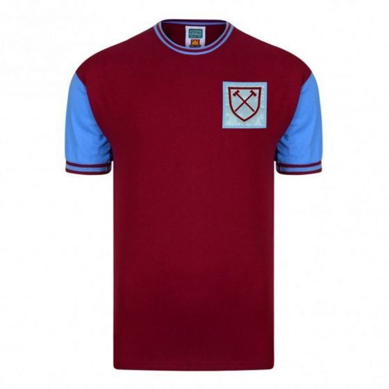West Ham United 1966 No6 Retro Home Shirt