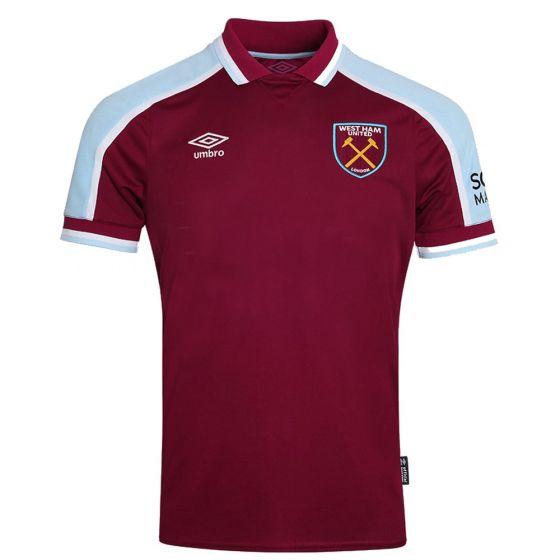 West Ham United Kids Home Shirt 2021/22