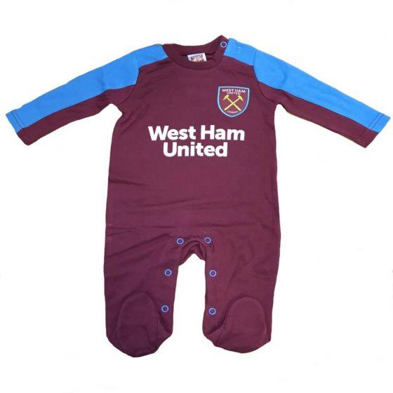 West Ham United Baby Sleepsuit 2017/18