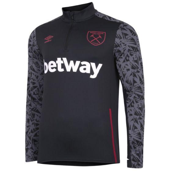 West Ham United long sleeve training top 20/21