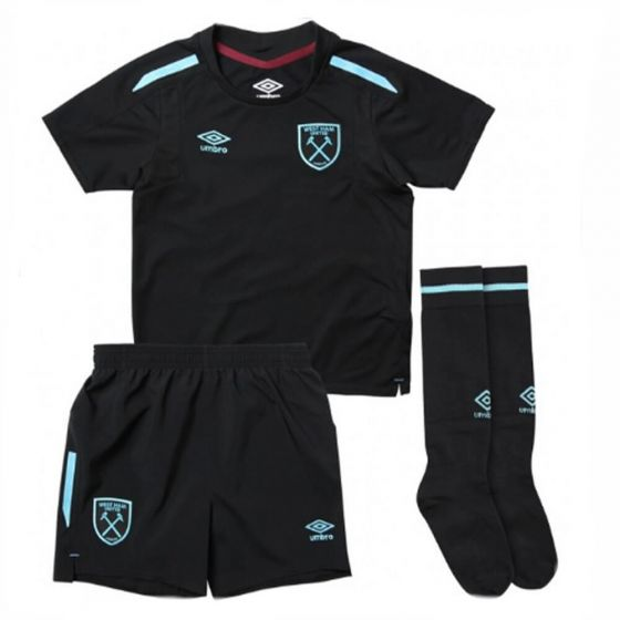 West Ham United Kids Away Strip 2017/18
