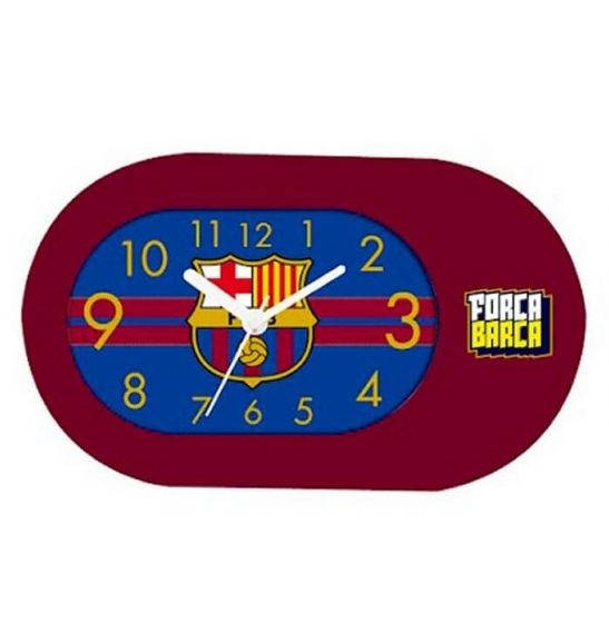 Barcelona Red Table Clock