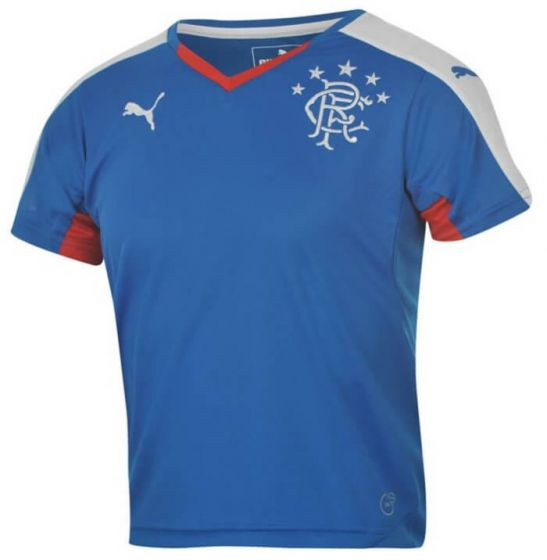 Glasgow Rangers Kids (Boys Youth) Home Jersey 2015 - 2016
