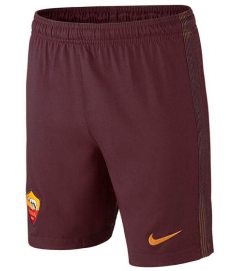 AS Roma Kids Home Football Shorts 2016-17