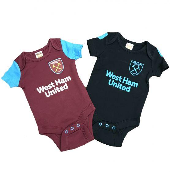 West Ham United Baby Bodysuits 2017/18