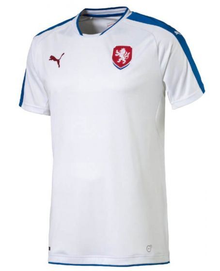 Czech Republic Euro Away Football Shirt 2016-17