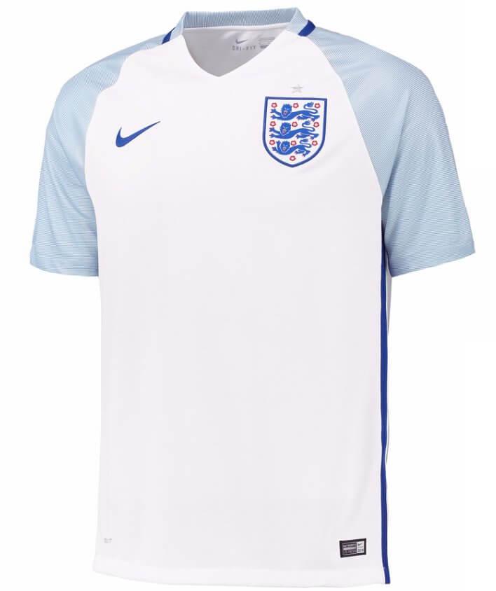 48f5eeae291 England Home Football Shirt 2016-17 - Order Today!