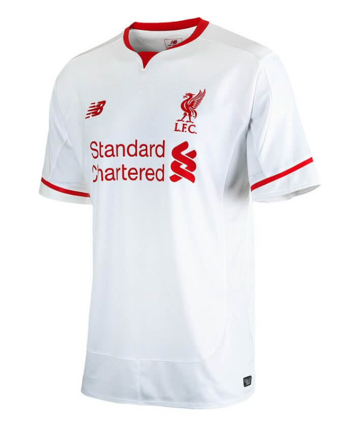 low priced 1b30e c5052 Liverpool Kids Away Jersey 2015 - 2016