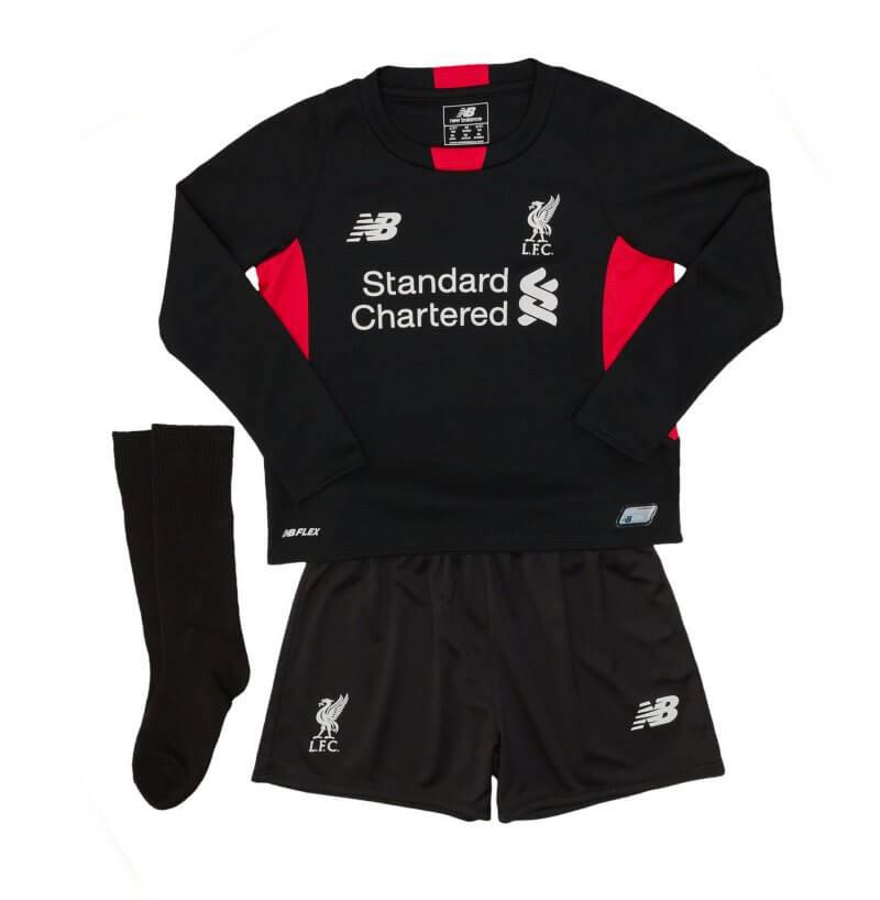 Liverpool Kids (Boys) Home Goalkeeper Kit 2015 - 2016 4da05b428
