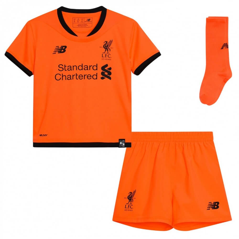 info for 65ad5 0f65a Liverpool Kids Third Kit 2017/18