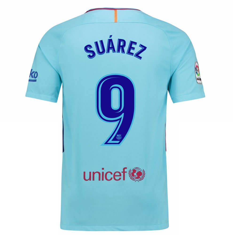 Luis Sua Rez Barcelona Away Shirt 2017 18 Low Stock