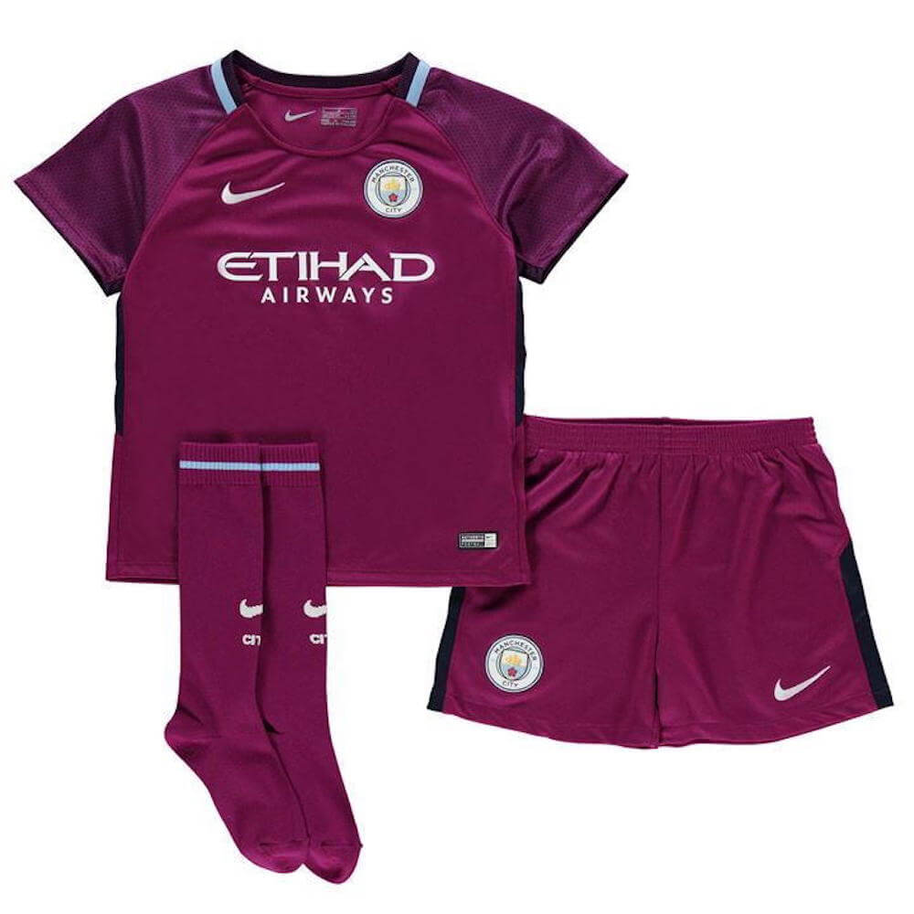 Manchester City Kids Away Kit 2017 18 - Worldwide delivery options 2902f8ed8