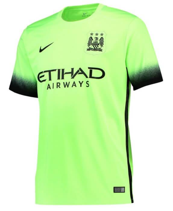 5814b114 Manchester City Kids Third Jersey 2015 - 2016 | Soccer Box