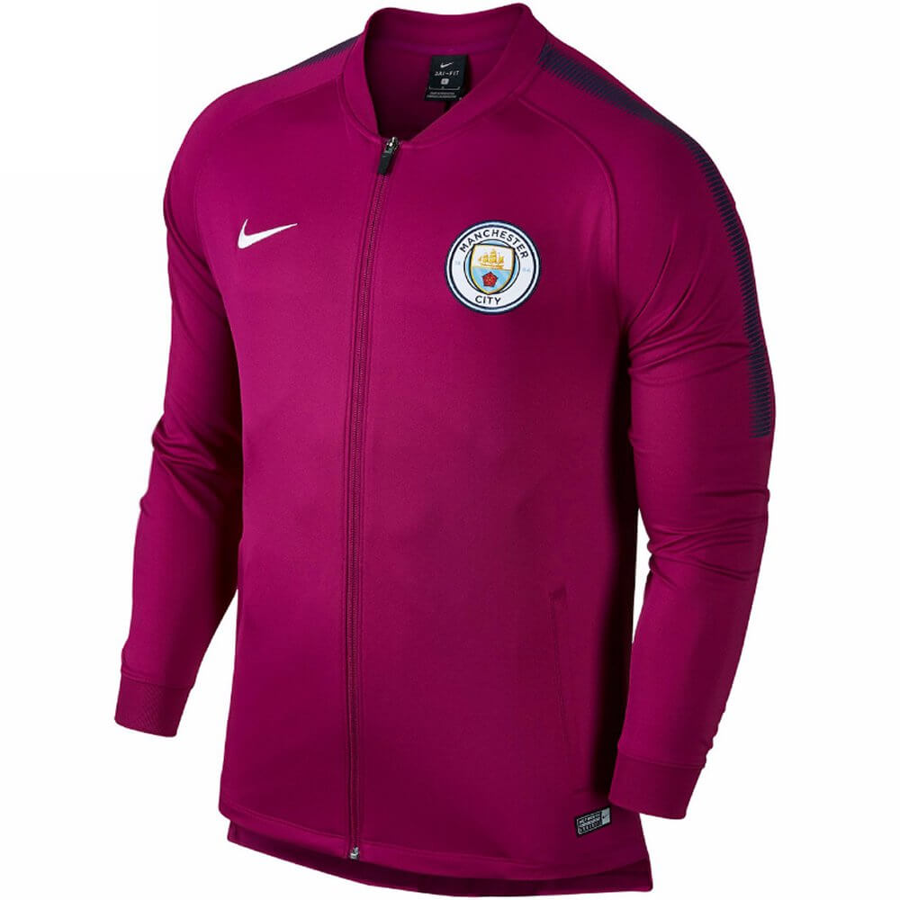 Manchester City Squad Track Jacket 2017 18 (True Berry) - Now released 778e25c56