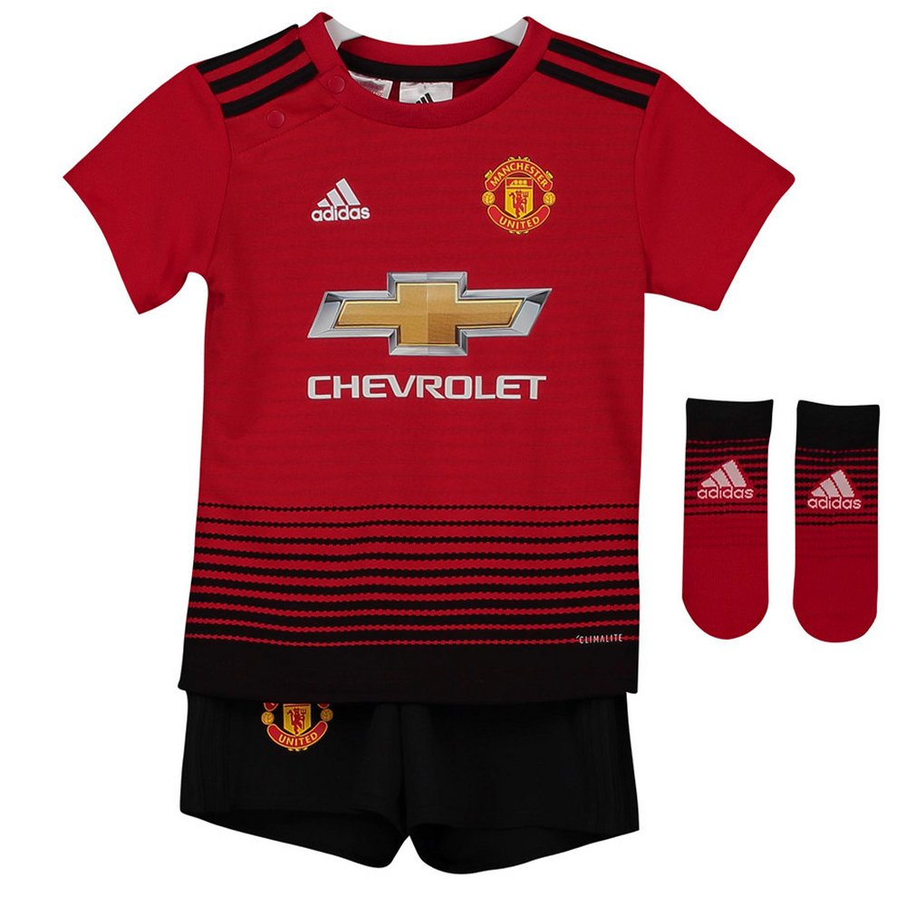 Manchester United Adidas Baby Home Kit 2018 19 e2b47f290