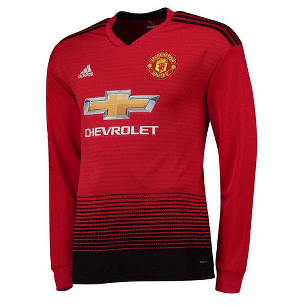 d69b64318 Manchester United Kids Long-Sleeve Home Shirt 2018 19