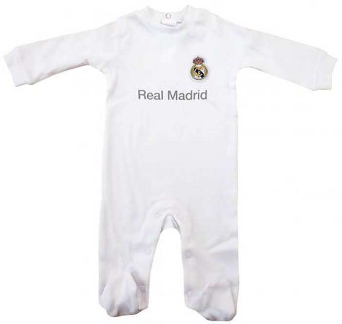 Real Madrid Baby Sleepsuit 2015 - 2016  cb4110af8
