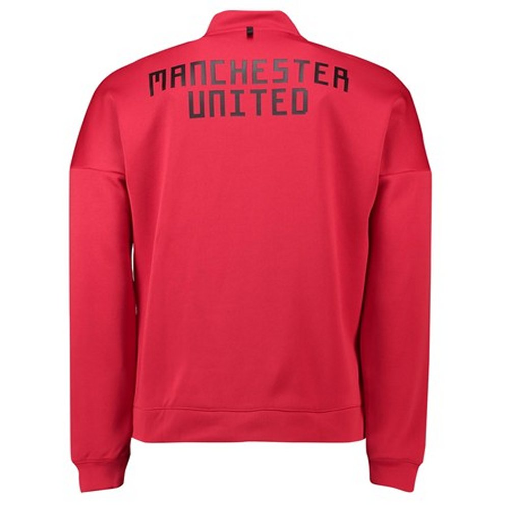 1ae065c2e Manchester United Adidas Red ZNE Jacket 2018 19 - Available Here!