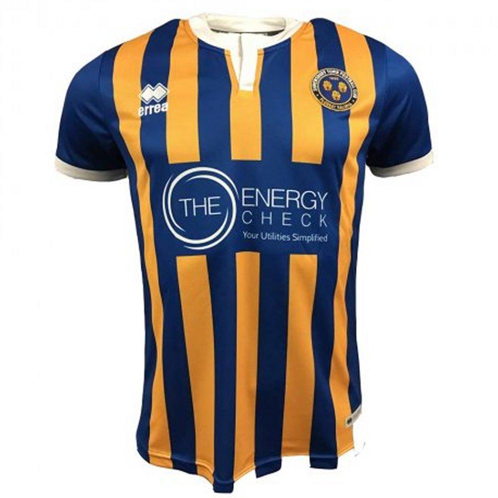 03e537802 Shrewsbury Town Errea Home Shirt 2018 19 - New to Soccer Box