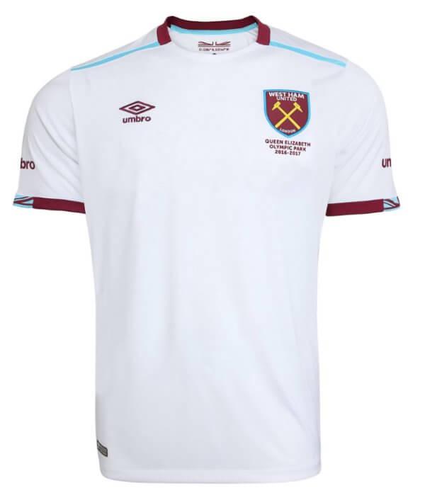 b64ee59894c West Ham United Kids Away Shirt 2016-17 - Replica Jersey