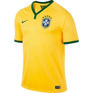 Brazil 2014 FIFA World Cup Home Soccer Jersey