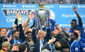 A Brave Decision to Sack Claudio Ranieri Lifting Trophy