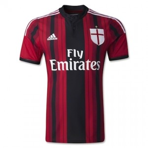 AC Milan Home Shirt 2014 - 2015