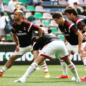 AC Milan Serie A 2015   2016 Prospects Sassuolo Warm Up