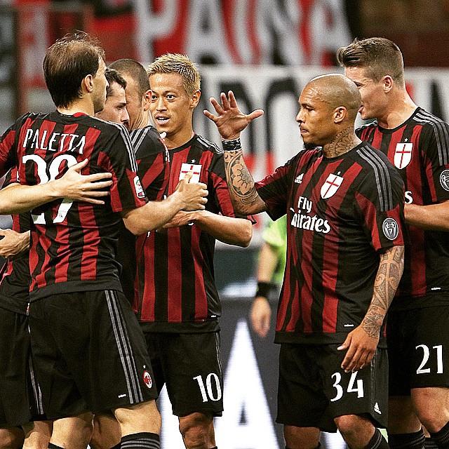 AC Milan V AS Roma 2015 Serie A | Soccer Box
