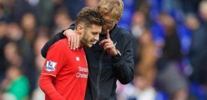 Adam Lallana Signs a New Deal with Liverpool Jurgen Klopp