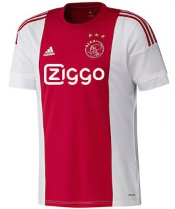 Ajax Home Shirt 2015 - 2016