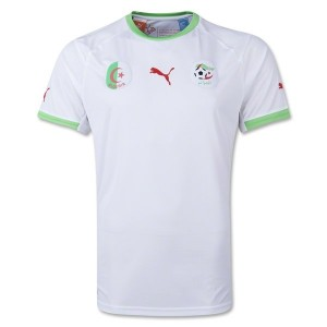 Algeria World Cup Home Jersey 2014