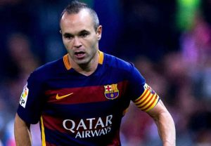 Andre?s Iniesta- The silent leader Barca captain