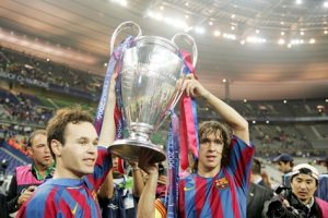 Andrés Iniesta: The silent leader UCL 2006