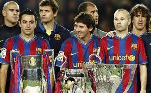 Andre?s Iniesta- The silent leader xavi & messi
