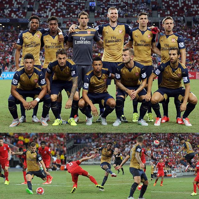 1cef9710d ... football club s desire to finally win a Premier Arsenal Away Kit 2015 -  2016 Tour Launch
