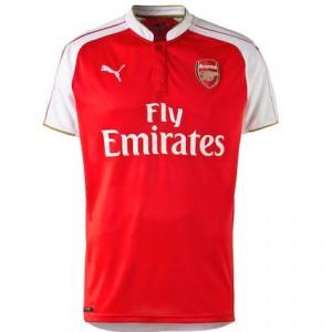 Arsenal Home Shirt 2015 - 2016