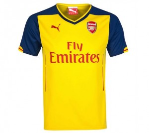 Arsenal Kids Away Shirt 2014 - 2015