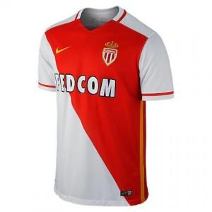 AS Monaco Home Shirt 2015 - 2016