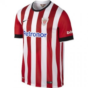 Athletic Bilbao Home Shirt 2014 - 2015