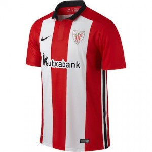 Athletic Bilbao Home Shirt 2015 - 2016