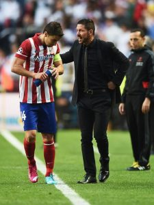 Atletico Madrid's midfield lynchpin, Gabi Simeone