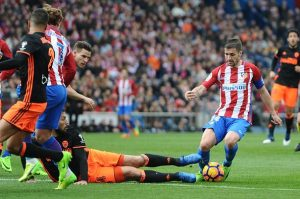 Atletico Madrid's midfield lynchpin, Gabi V Valencia