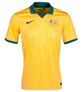 Australia 2014 World Cup Home Jersey