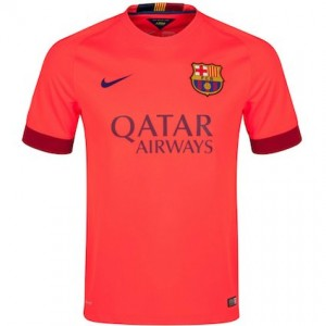 Barcelona Away Shirt 2014 - 2015