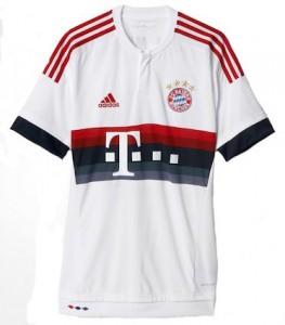 Bayern Munich Away Shirt 2015 - 2016