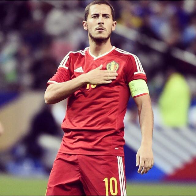 6e54a72bc ... Belgium Top FIFA Rankings Eden Hazard