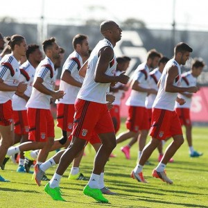 Benfica Title Hopes Training