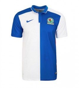 Blackburn Rovers Home Shirt 2015 - 2016