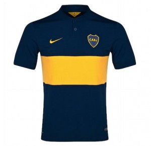Boca Juniors Home Shirt 2014 - 2015